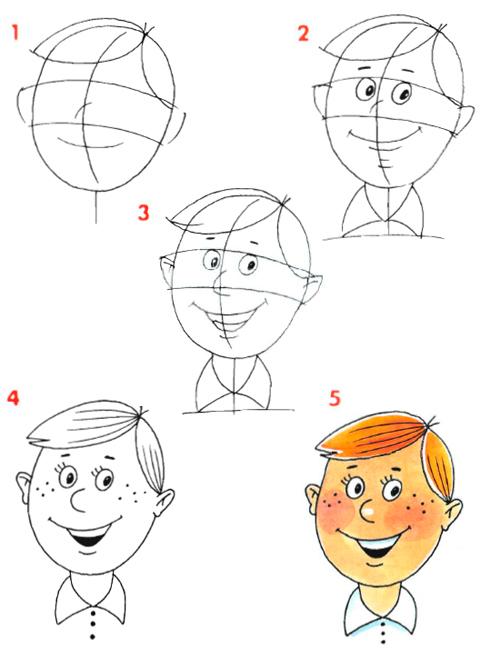 Как нарисовать людей