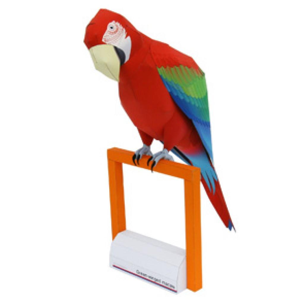 Попугай из бумаги своими руками схема мастер класс