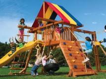 Готовые детские площадки или под индивидуальный заказ