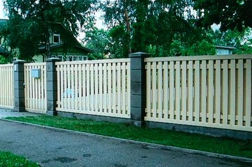 купить забор на дачу дешево