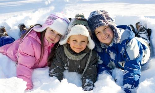 Как одеть детей в мороз