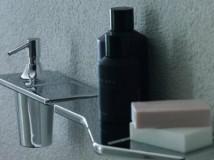 Практичное решение для ванной - пластиковая полка