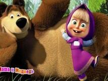 Детский праздник «Маша и медведь»