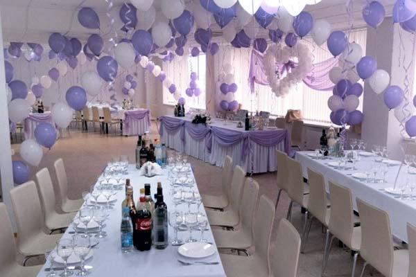Как украсить зал для свадьбы своими руками